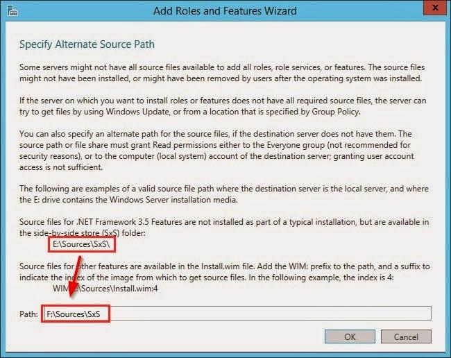 Wskazanie płyty instalacyjnej Windows ze ścieżką do źródeł