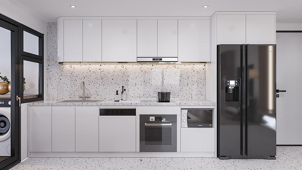 Thiết kế nội thất căn hộ Berriver Jardin Long Biên