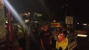 Cegah Rawan Kriminal Malam, Kapolsek Cileunyi Pimpin Patroli 3 Pilar