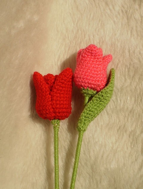 2000 Free Amigurumi Patterns Free Tulip Crochet Pattern