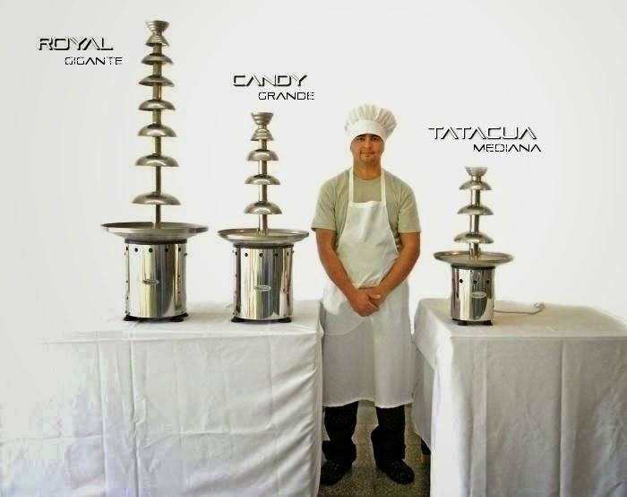 modelos de cascada de chocolate