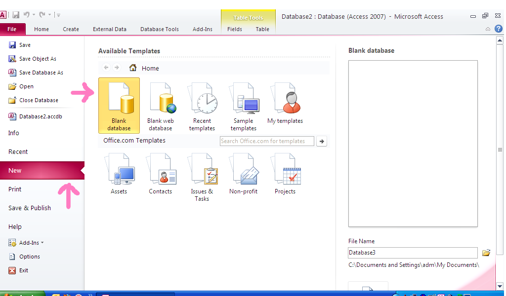 Msoffice Access 2010 discount