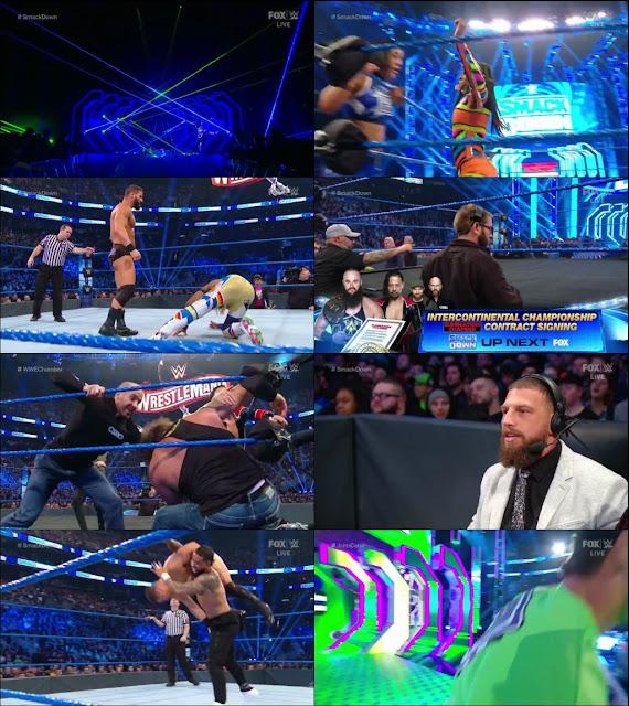 WWE Friday Night Smackdown 28th February 2020 720p HDTV