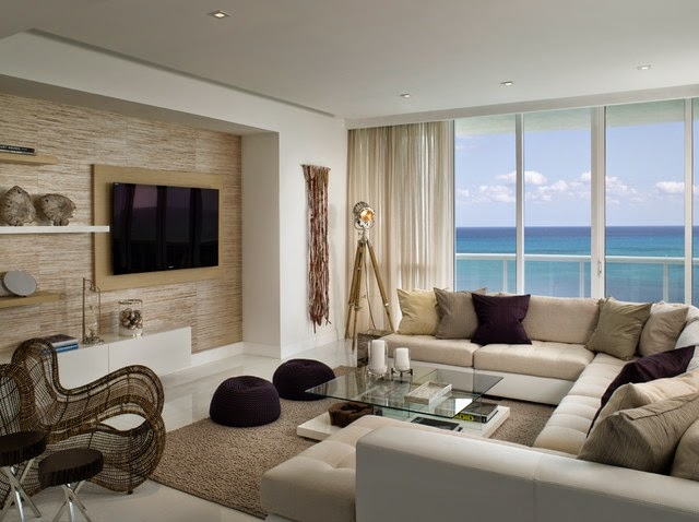 Salas con tv salas con estilo for Sala tv moderna