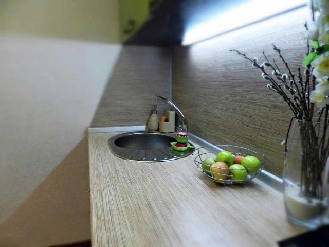 столешница тростник в интерьере кухни