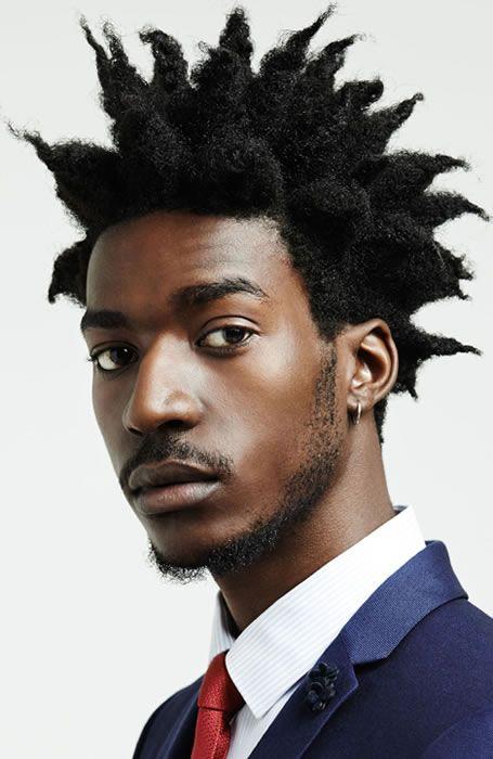 Corte de Cabelo Masculino afro crespo