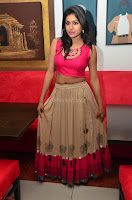 Akshita super cute Pink Choli at south indian thalis and filmy breakfast in Filmy Junction inaguration by Gopichand ~  Exclusive 067.JPG