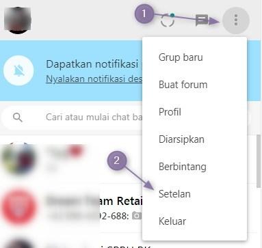 Cara Mengaktifkan Mode Gelap WhatsApp Web