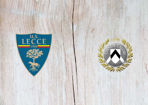 Lecce vs Udinese -Highlights 6 January 2020