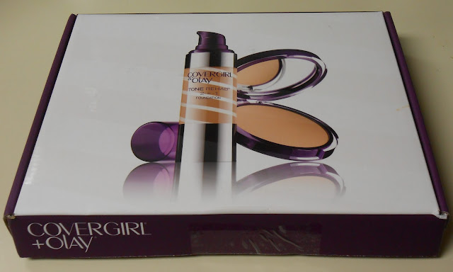 Covergirl and Olay box