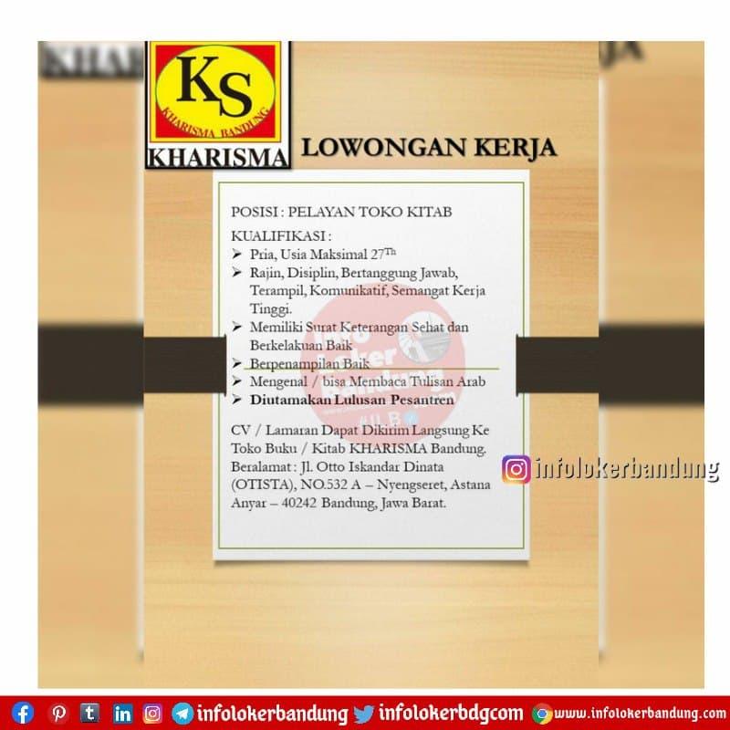 Lowongan Kerja Pelayan Toko Buku / Kita Kharisma Bandung April 2021