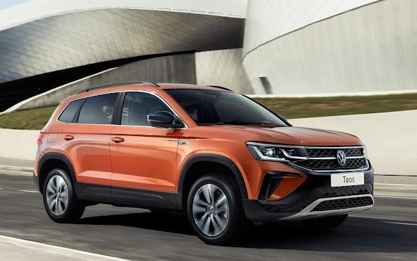 Volkswagen Taos terá opção de motor 1.6 MSI para o mercado russo