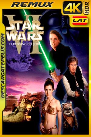 Star Wars: episodio VI el retorno del Jedi (1983) 4k BDRemux HDR Latino – Ingles