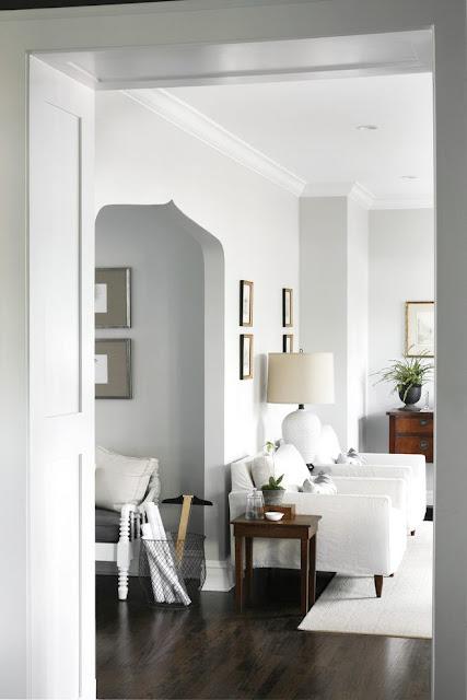 Whitish Green Kitchen Walls