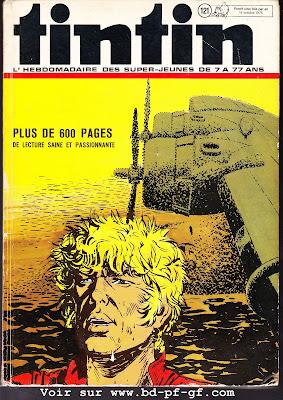 Recueil Tintin 121