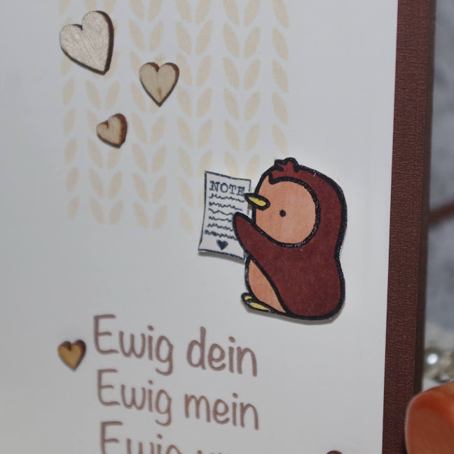 [DIY] Ewig dein Ewig mein Ewig uns | Karte zum Valentinstag & Jahrestag