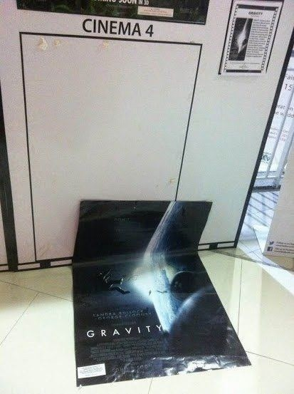 Funny Gravity Movie Poster Joke Picture