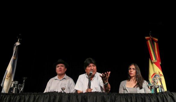 Evo Morales: Tengo derecho a hacer política en Bolivia