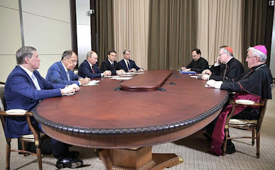 Meeting with Vatican Secretary of State Cardinal Pietro Parolin.