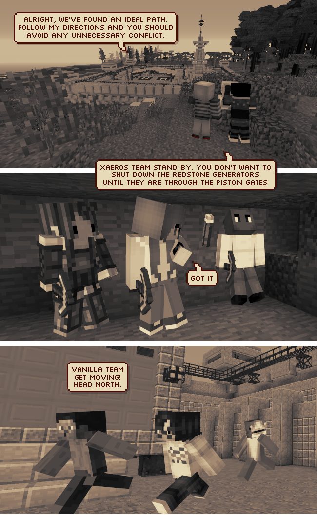 Minecraft web comic Mine Your Manners