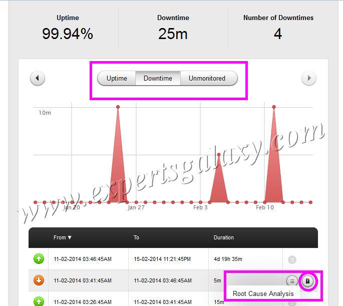 Monitor Blog Website Uptime