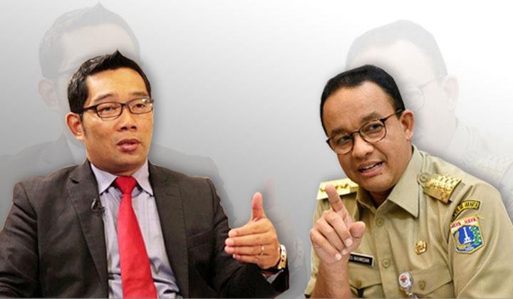 Survei Indikator: RK dan Anies Bersaing Ketat