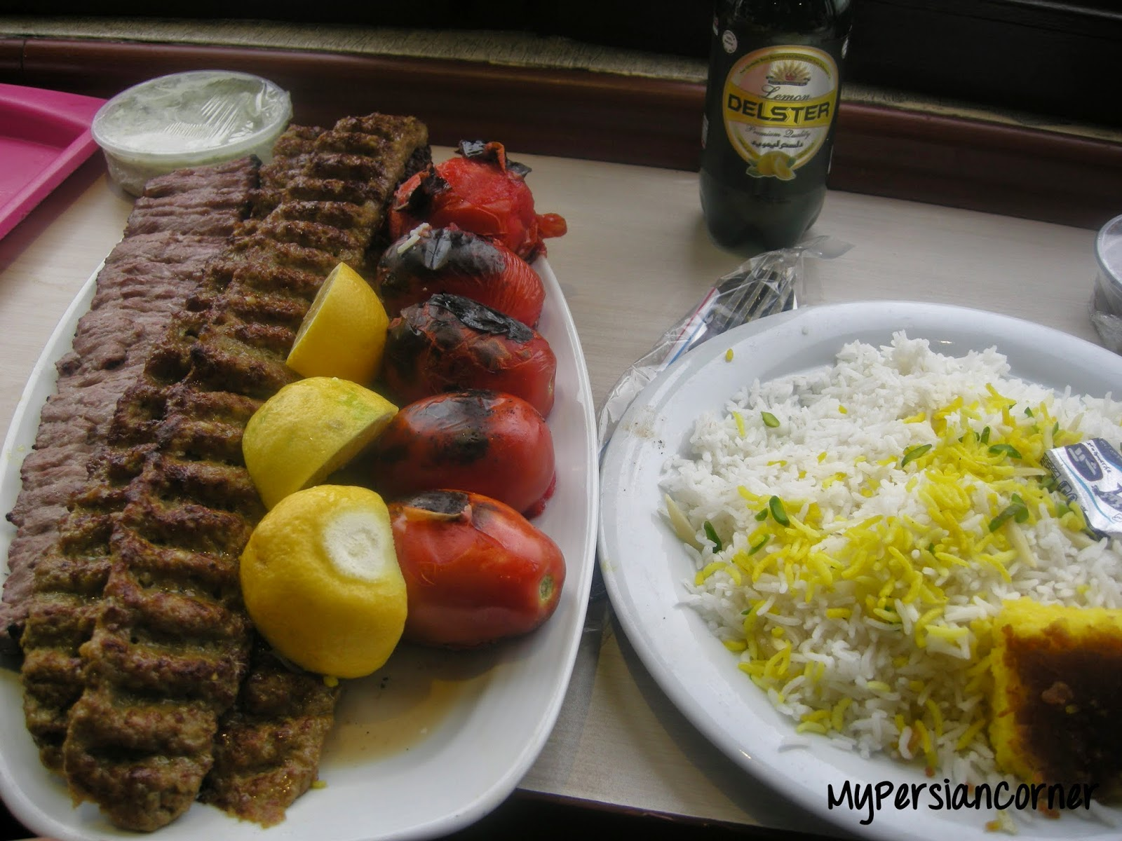 Kabob is used in a popular Persian Farsi language tongue twister