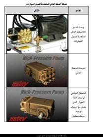 صيانة وإصلاح المضخات المستخدمة في غسيل السيارات