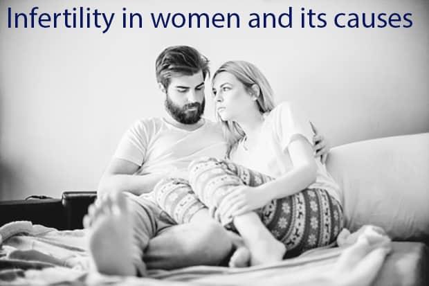 العقم عند النساء وأسبابه