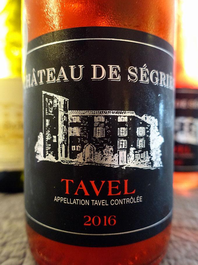 Château Ségriès Tavel 2016 (89 pts)