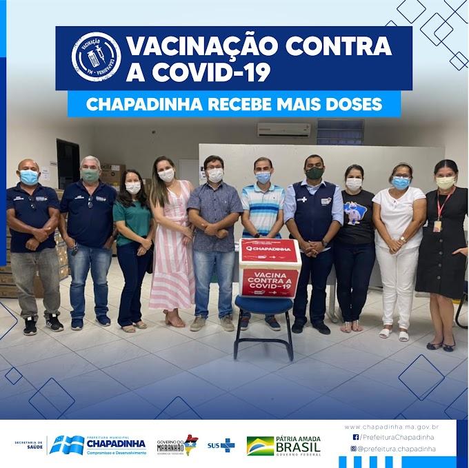 Chapadinha bate recorde de vacinação contra a Covid-19 durante o final de semana.