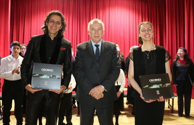 Franklin De Lima, Jaime Bertin y Alexandra Aubert