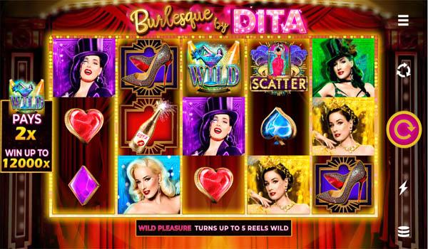 Main Gratis Slot Indonesia - Burlesque By Dita Microgaming