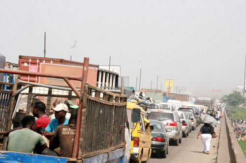 julius Berger close lagos ibadan expressway