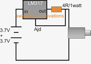 Simple Power Bank with LM317 current control