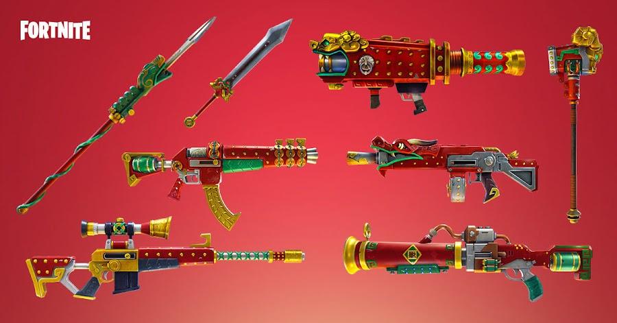 fortnite battle royale season 3 battle pass weapons