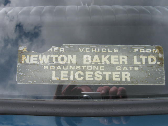 Vitessesteve blog newton baker ltd of leicester triumph car dealers 17a