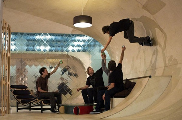 Skateboard House, USA
