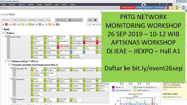 Workshop PRTG Network Monitoring 26 Sep 2019