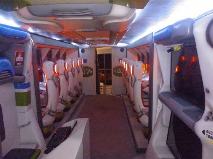 Bus paling unik gaming bus interior