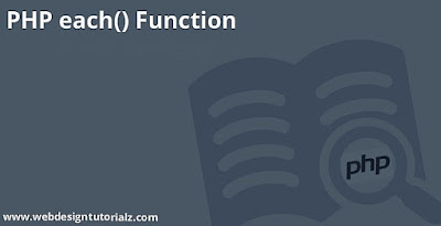 PHP each() Function