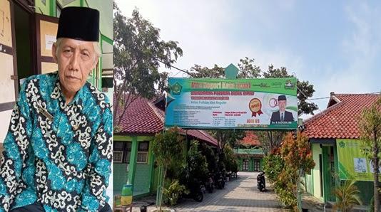 Kepala MTs Negeri Kota Tegal Benahi Sarpras Lingkungan Sekolah