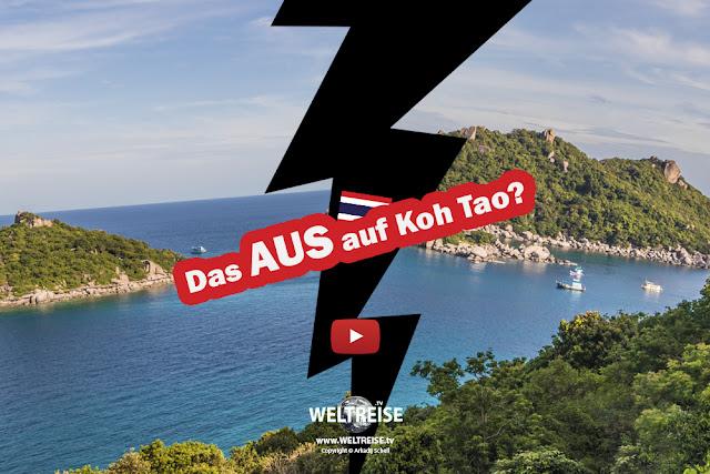 WELTREISE zu ende nach Koh Tao? www.WELTREISE.tv # 203