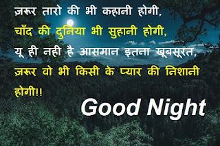 good night love shayari in hindi for boyfriend