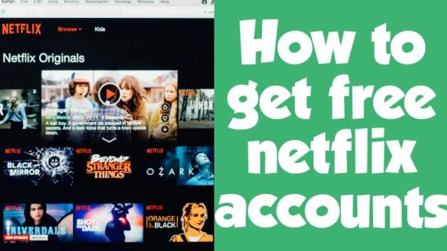 Free Netflix Accounts 2021 100 Working Methods