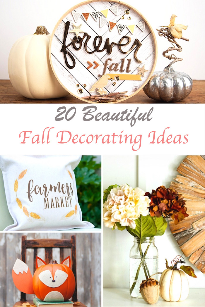 fall projects for the home