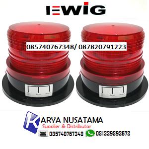Jual Rotary Lamp Mobil 12VDc/24VDc N5095 Magnet di Sidoarjo