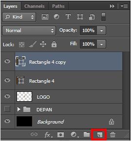 cara membuat kartu nama di photoshop