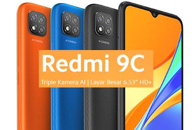Spesifikasi dan harga Xiaomi Redmi 9C