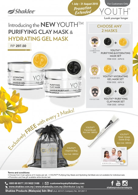 Mask Shaklee, Mask Best, Clay Mask, Hydrating Mask